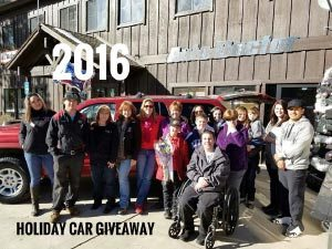 2016 Holiday Car Giveaway