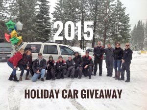 2015 Holiday Car Giveaway