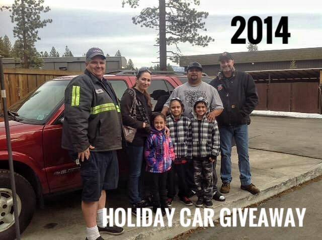 2014 Holiday Car Giveaway