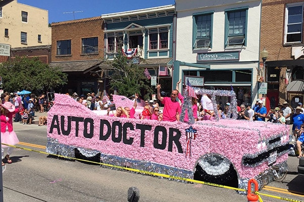 Annual Truckee 4th of July Parade in Historic Downtown Truckee